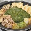 ギバサと親鶏のキリタンポ鍋