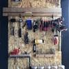 壁面工具収納をほぼ100均材料で自作する方法