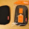 iPhoneを入れる「サンワサプライ マルチスマートフォンケース PDA-SPC1」