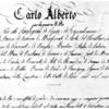 アルベルト憲章(1848) - 翻訳