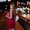 上海高架橋・タムロン70-180での夜のポートレート撮影会・モダン少女