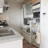 キッチンにフロアマットを敷きました