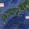 【地震】台風18号が9/12の韓国南東部M5.8の震源を迂回して進んだ?