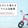 小学生の自転車の買い替えで迷ったら大人も子供も乗れる折りたたみ自転車