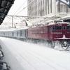 雪の降る日に車両写真なんて撮るものではありません