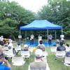 野鳥公園フェスティバルでシギに遭遇。