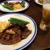 久しぶりの下北沢で久しぶりのステーキ 250g ¥1750