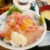 小田保で再び海鮮丼
