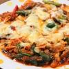 キムチとチーズで最強のごはんのお供!牛肉とニラとトマトのキムチーズ焼き