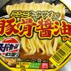 スーパーカップ極太盛り ニンニク・ヤサイ豚骨醤油ラーメン(エースコック)