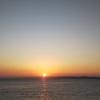 美しい朝陽♪