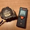 間取りの幅や天井高などを測定するために購入したメジャーとレーザー距離計