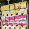 「ポケモン パレットカラーコレクション」筐体20台の店頭ディスプレイ
