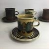 またまた素敵なフィンランドのコーヒーカップ&ソーサーですね  本当に素敵!
