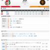 2019-03-30 カープ第2戦(マツダスタジアム)●2対5 巨人(1勝1敗0分)床田まずまず。打線、つながらず。