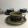 アラビア社の素敵デザイナーが手掛けたオシャレなティーカップ&ソーサーです。