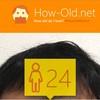 今日の顔年齢測定 422日目