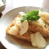 【マタニティ】厚揚げでたんぱく質を摂取!お昼ごはんは積極的に食べて栄養補給!