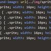 grunt-spritesmith を使って LESS でもスプライト画像を自動生成する