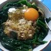 おっさん晩飯日記 5品目 卵かけとうふのそぼろ丼