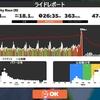 【ロードバイク】Zwiftトレーニング49日目_ベーストレ&Zwiftレース_20200714