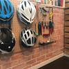 【レンガ調の壁紙を張りました】自転車部屋大改造計画~DIYで秘密基地を作ろう~