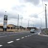 島小学校・ハレノテラス付近の道路が開通、ハレノテラスにはスターバックスも開店へ