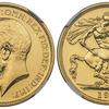 イギリス1911年ジョージ5世2ポンド金貨 NGC PF67