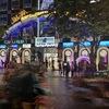 【一人旅ホイアン-ホーチミン編4日目⑤】ホーチミン市街夜の風景。