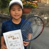 南日本ジュニアテニス選手権U12女子準優勝