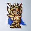 【アイロンビーズ】聖闘士星矢より、乙女座のシャカ