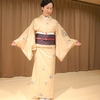 【コーディネート例】お正月飾りの帯と紬でお稽古へ