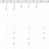 Excel VBA  variant型の配列を二次元のセルに流し込むマクロ