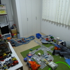 子供部屋の現状。