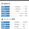 ビットコインの含み益は100万円くらい
