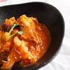 ●エミリオちゃんのキャベツと牛肉のトマト煮込み