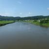 最上川と陸羽西線