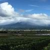 夏の終わりの富良野 大雪山