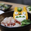 彩りトトロずし Colorful sushi of TOTORO
