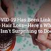 コロナウイルス感染による後遺症に大量の抜け毛や薄毛の方は感染率の高いと論文発表