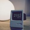 AppleWatchを旧型Macintosh風にディスプレイするレトロ可愛い充電スタンド