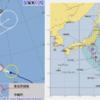 【台風15号の進路・台風の卵】気象庁・米軍の予想では台風15号『ファクサイ』は08日夕方以降にも関東地方へ直撃コース!日本の西には台風13号・南には台風16号の卵も存在!