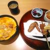「鳥開」の「名古屋コーチン焼き鳥御膳」