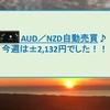 AUD/NZD自動売買 2月第3週+2,132円