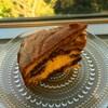 ピーナッツバターチョコレートのマーブルケーキ