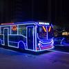 2018年末 ブラジルの旅8 サンパウロの電飾バス