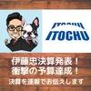 伊藤忠・決算発表速報(20年3月期)!累進配当堅持!!