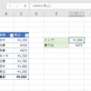 Excelで名前付き範囲を作成する