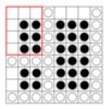 AtCoder ABC 179 F - Simplified Reversi (青色, 600 点)
