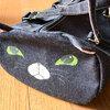 【猫グッズ】「ねこばっかプラスワン」で衝動買いしてしまった猫のデニムバッグ&肉球ピアス